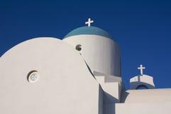 Chapel in Cyprus. Saint Nicholas chapel in Paralimni, Cyprus Royalty Free Stock Images