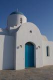 Chapel in Cyprus. Saint Nicholas chapel in Paralimni, Cyprus Stock Photography