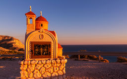 Chapel in Cyprus. Small orthodox chapel in Cyprus Royalty Free Stock Photography