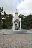 Chapel of defenders of Fatherland. Kaliningrad, Russia Royalty Free Stock Photos