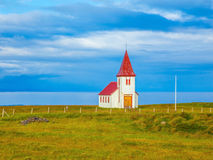 Chapel on a deserted shore Royalty Free Stock Photos