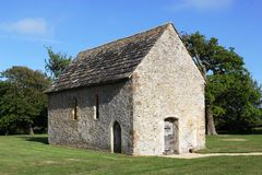 Gothic Chapel. Detached English 13th Century Gothic Chapel located in Sussex, UK Royalty Free Stock Photo