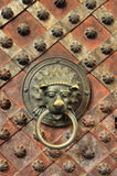 Chapel - detail of door Royalty Free Stock Photo
