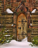 Chapel Door Stock Photography