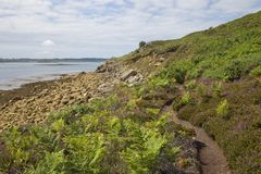 Chapel Down, St Martin's, Isles of Scilly, England Royalty Free Stock Photography