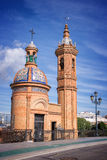 Chapel of El Carmen, Triana district, Seville Royalty Free Stock Image