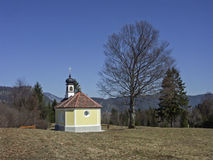 28/5000Chapel en el país de Werdenfels Fotos de archivo