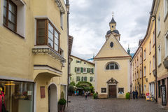 Chapel Erhard in Old Town of Bressanone Royalty Free Stock Image