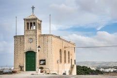 Chapel facade in Selmun, Malta Royalty Free Stock Photography