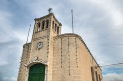 Chapel facade in Selmun, Malta. Chapel dedicated to Our Lady of Ransom in Selmun, Malta Stock Photography