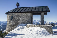 Chapel on the Fahrenberg Stock Photos
