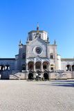 Chapel Famedio at Monumental cemetery (Cimitero Monumentale) in Milan Stock Photo