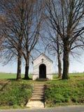 Chapel in fields Royalty Free Stock Image