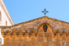 Chapel of Flagellation on Via Dolorosa Stock Photography