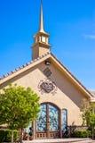 The Chapel of The Flowers Las Vegas Nevada Stock Image