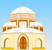 Chapel of the four domes Royalty Free Stock Image