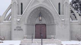 Chapel Front Door Stock Images