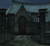 Chapel gates Stock Images
