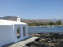 Chapel at Georgioupolis in Crete royalty free stock photography