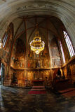 Chapel of gothic cathedral Stock Images