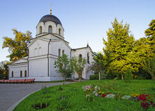 Chapel in graveyard in Conception convent in Moscow Stock Images
