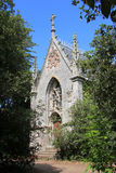 Chapel in the Gulf of Morbihan Stock Photo