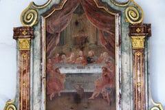 Chapel in hammelburg Royalty Free Stock Image