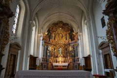 Church in hammelburg Stock Images