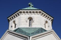 The chapel of the heart in Ars sur Formans, France Royalty Free Stock Images