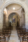 Chapel at Hermitage of San Bartolomeo Italy. Chapel at Hermitage of San Bartolomeo in Legio Italian: Eremo di San Bartolomeo in Legio is an hermitage located in Stock Photography