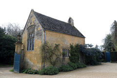 The Chapel at Hidecote Manor. From a field high up on the Cotswold escarpment to one of the country's most influential 20th-century gardens, Hidcote is world Royalty Free Stock Images