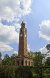 Chapel Hill Bell Tower. Morehead-Patterson Bell Tower at Chapel Hill in NC Royalty Free Stock Photos