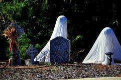 Chapel Hill, NC: Halloween Decorations Royalty Free Stock Photo