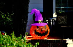 Chapel Hill, NC: Halloween Decorations Royalty Free Stock Image
