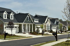 Chapel Hill, NC: New Residential Homes Stock Photography