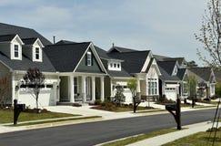 Chapel Hill, NC: Nuove case residenziali Fotografia Stock