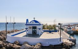 Chapel of the Holy Apostles (St. Apostoli). Faliraki. Rhodes Stock Photos