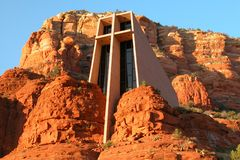 Chapel of the Holy Cross Stock Image