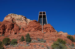 The Chapel of the Holy Cross near Sedona, Arizona Stock Photo