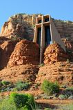 Chapel of the Holy Cross in Sedona Stock Photography