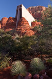 Chapel of the Holy Cross in Sedona, Arizona Stock Photos