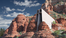 Chapel Of The Holy Cross. In Sedona Arizona Royalty Free Stock Image