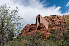 Chapel of the Holy Cross in Sedona, Arizona Stock Image