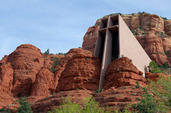 Chapel of Holy Cross in Sedona, Arizona Royalty Free Stock Images