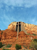 Chapel of the Holy Cross in Sedona, Arizona Royalty Free Stock Photography