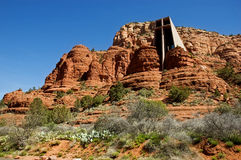 Chapel of the Holy Cross, Sedona AZ Stock Photography