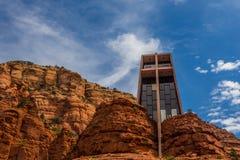 The chapel of the holy cross in Sedona Royalty Free Stock Photos