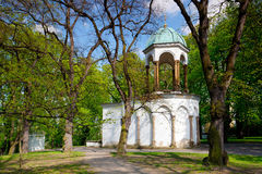 Chapel of the Holy Sepulchre on Petrin Hill Royalty Free Stock Image