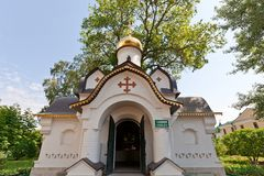 Chapel of Holy Spirit (2004) in Dmitrov, Russia Royalty Free Stock Images