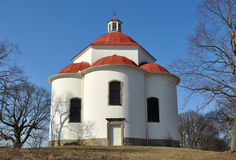 Chapel of Holy Trinity in Rosice,Czech rep. Royalty Free Stock Photos